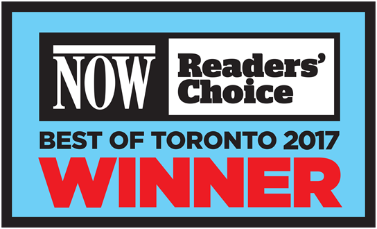 NOW's 2017 Best of Toronto Reader's Choice Winner - Best Steakhouse